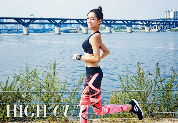 Hyeri adidas High Cut