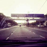 Johor Bahru Tanpa Kesesakan Jalan Raya Adalah Sangat Jarang-jarang Berlaku.