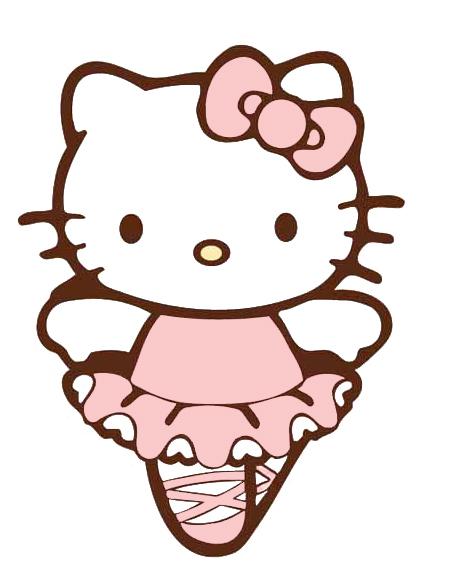 Dibujos Hello Kitty bailarina - Imagui