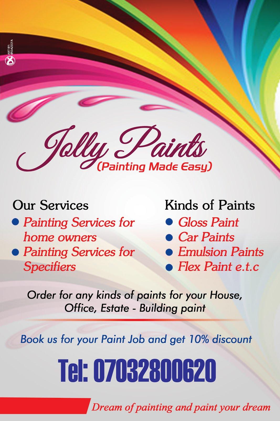 Jolly Paints