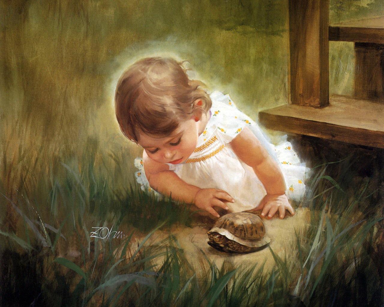 Fabuleux Il mondo di Mary Antony: I bambini di Donald Zolan IA71