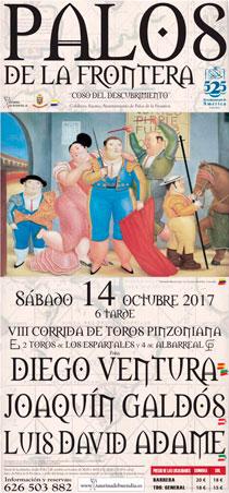 PALOS DE LA FRONTERA (ESPAÑA) 14-10-2017. CORRIDA DE TOROS MIXTA.   .