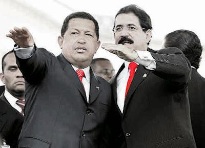 Hugo Chávez y Manuel Zelaya | Copolitica
