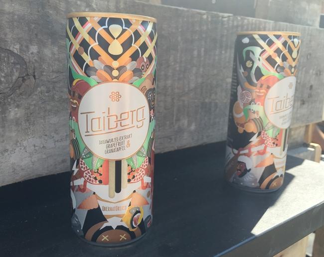 Taiberg, Gesunder Energydrink, Trend-Getränk, Grapefruit und Granatapfel