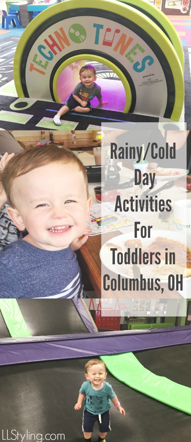 Indoor Play Areas/Activities for Toddlers in Columbus, OH