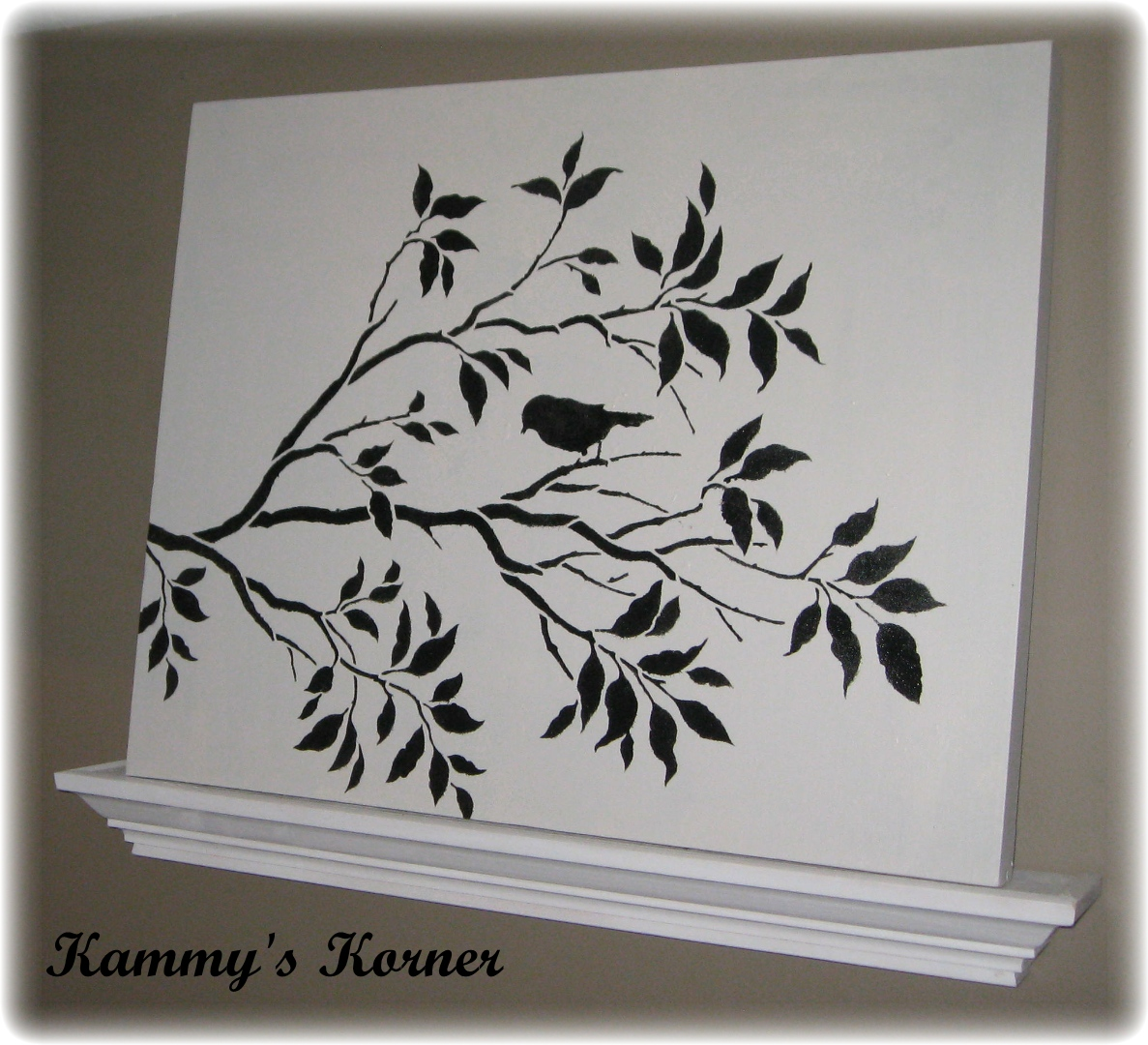 kammy 39 s korner thrifted canvases with my new cutting edge