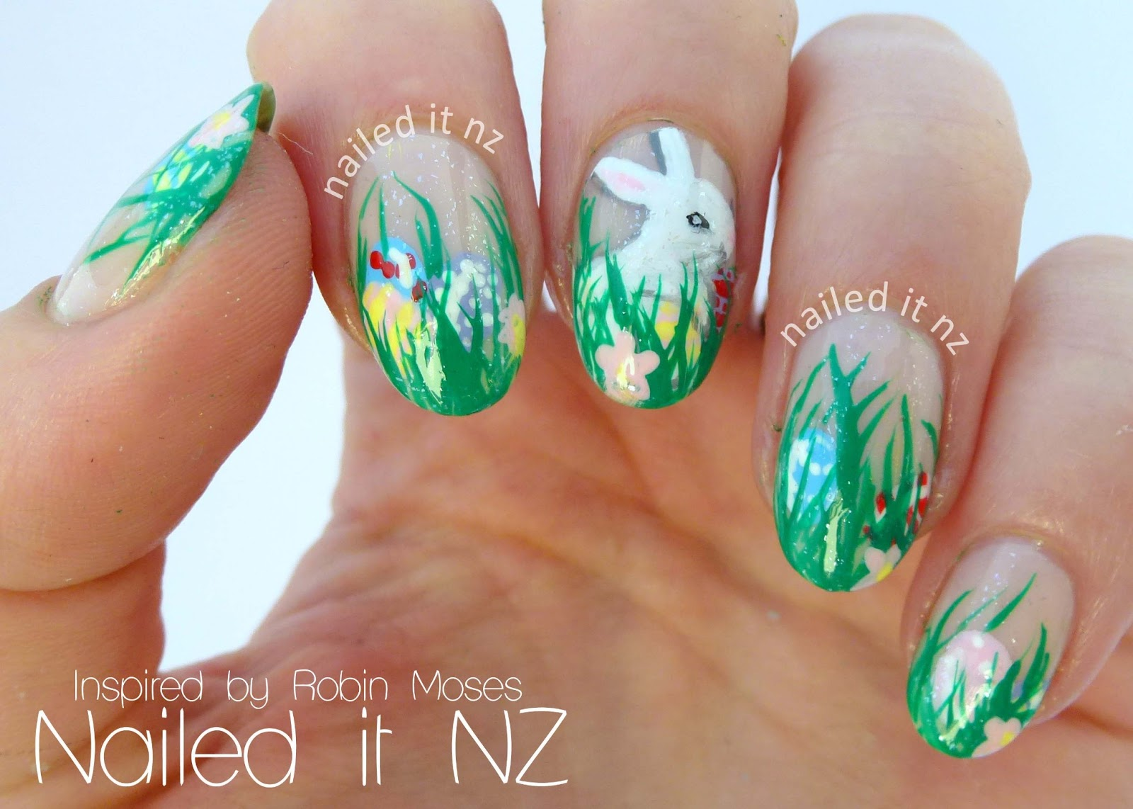 Easter Nail Art Inspired By Robin Moses