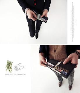 Dompet Pria Korea Model Terbaru Febuari 2016 Murah Meriah