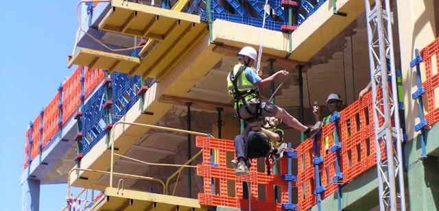 Construccion y riesgos laborales