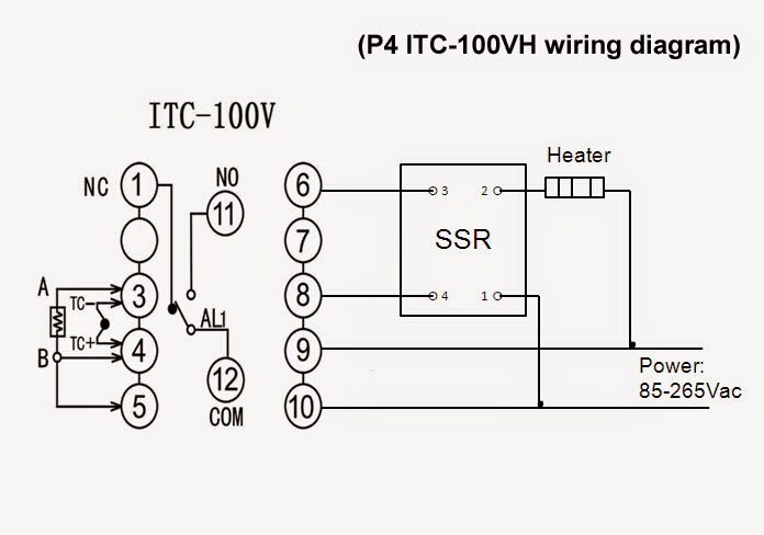 wiring diagram itc 1000f electrical schematic