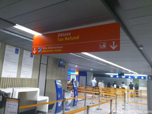 tax refund tax refund charles de gaulle airport. Black Bedroom Furniture Sets. Home Design Ideas