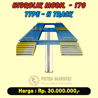 HIDROLIK MOBIL TYPE-H TRACK 170