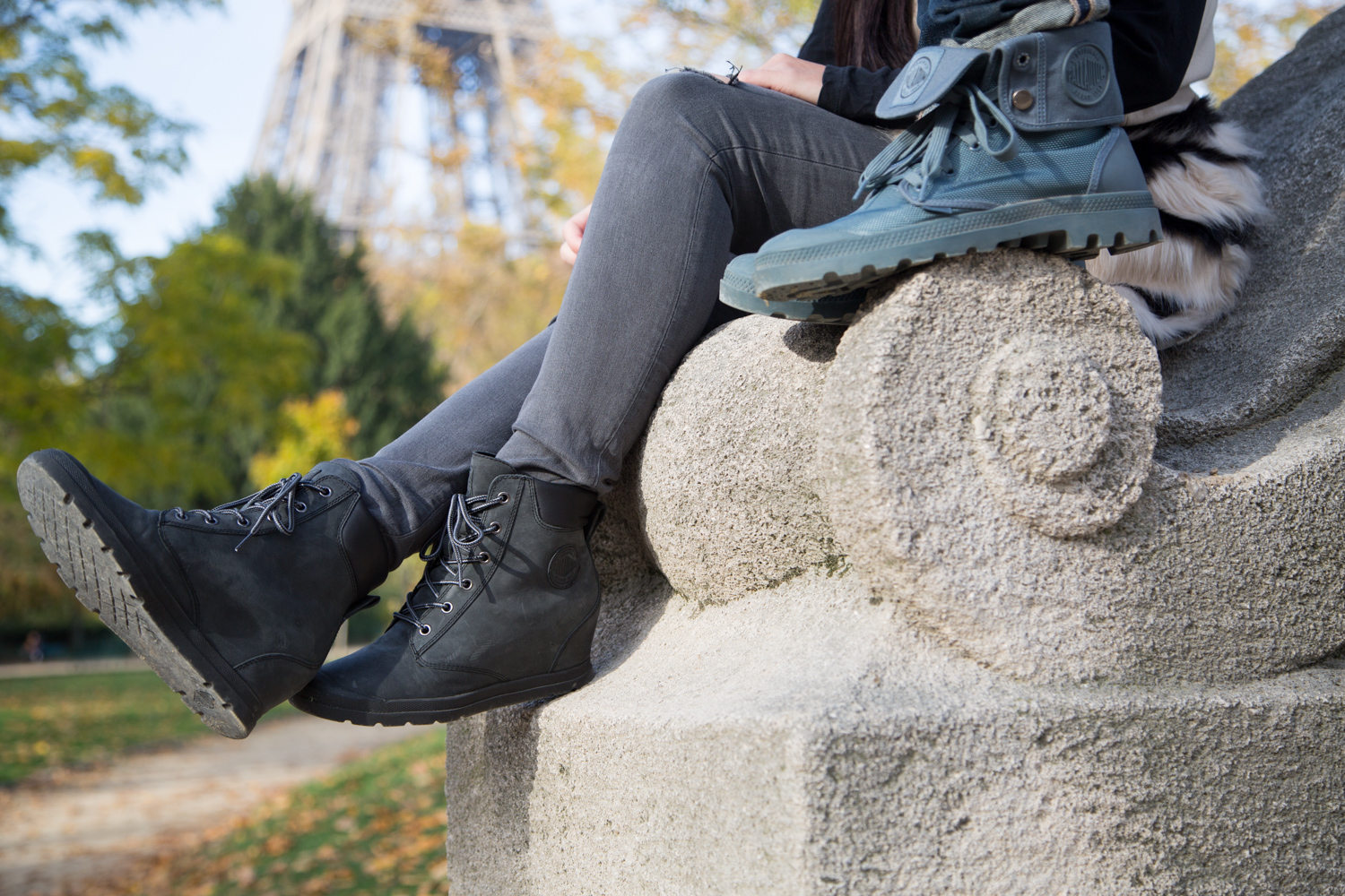 Palladium Boots and the Eiffel Tower