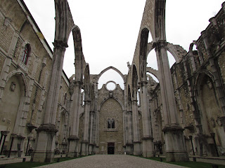 must see, top 10, city break, best, main attraction, religious, ruin, Carmo Covent, Portugal, Lisbon, arch, gothic, stone, church, wall, hidden, holiday, tourist, walk,