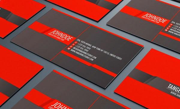 thiết kế card visit đẹp 4