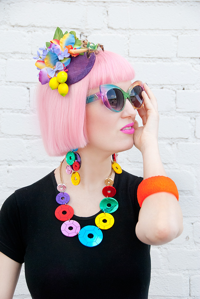 Tatty Devine, Sequin Party, Quirky fascinator