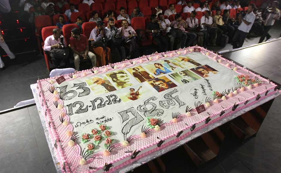 Happy Birthday Rajini Cake