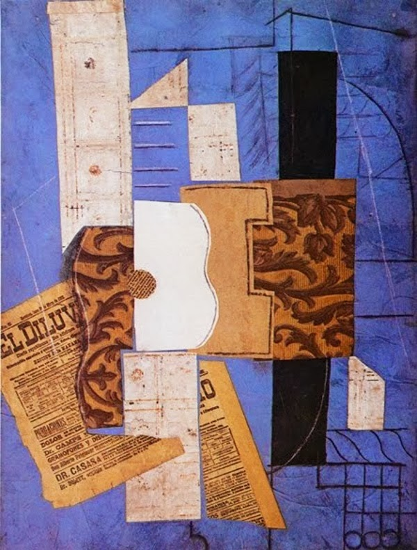 Art et glam: L\'art du collage avec Pablo Picasso
