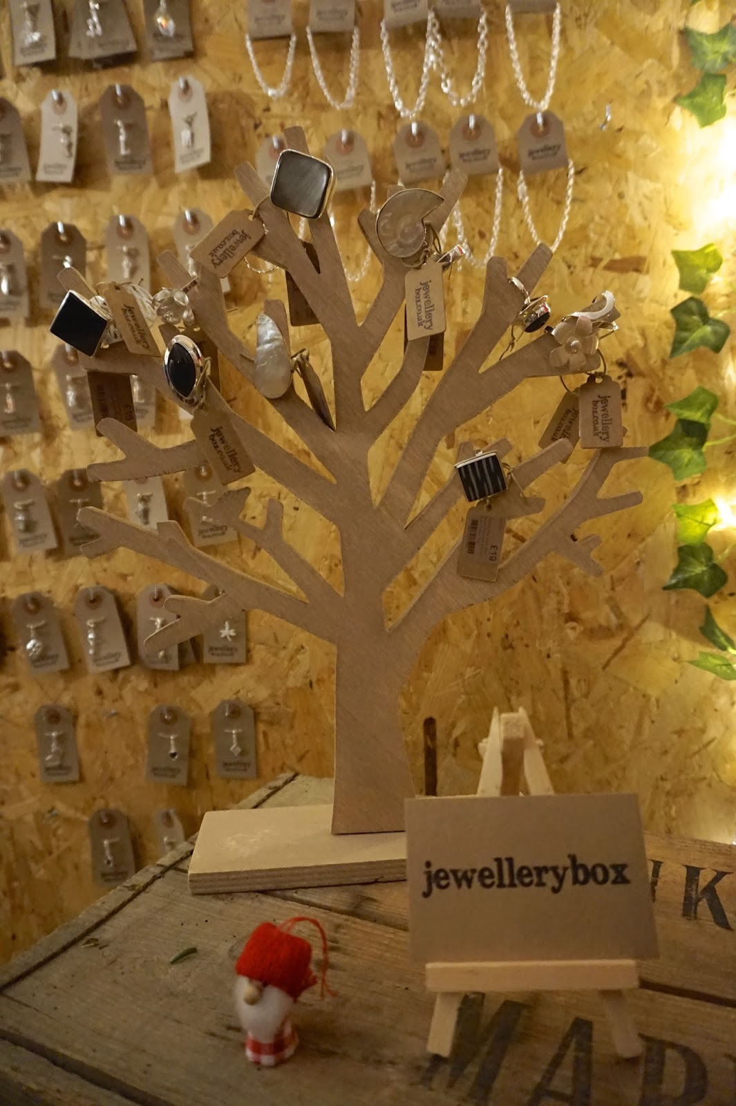 jewellery box winter bloggers event london