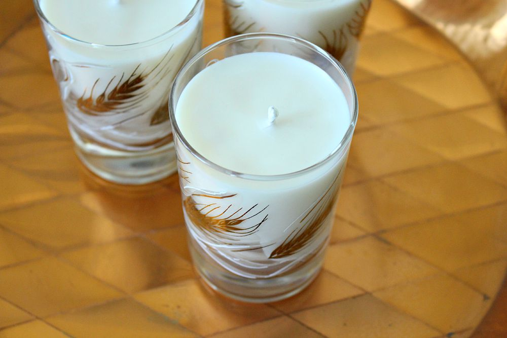 Make your own soy candles