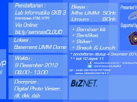 Seminar Nasional Cloud Computing UMM 2012
