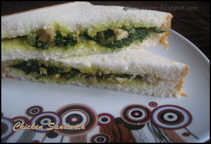Spinach-Chicken- Sandwich