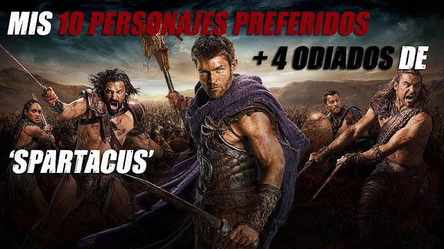 Mis 10 personajes preferidos + 4 odiados de \'Spartacus\' - Zona Boom