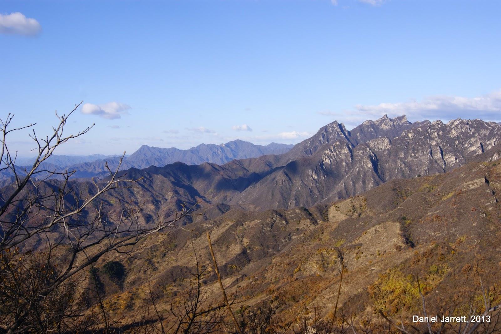Great Wall Mutianyu Mountains