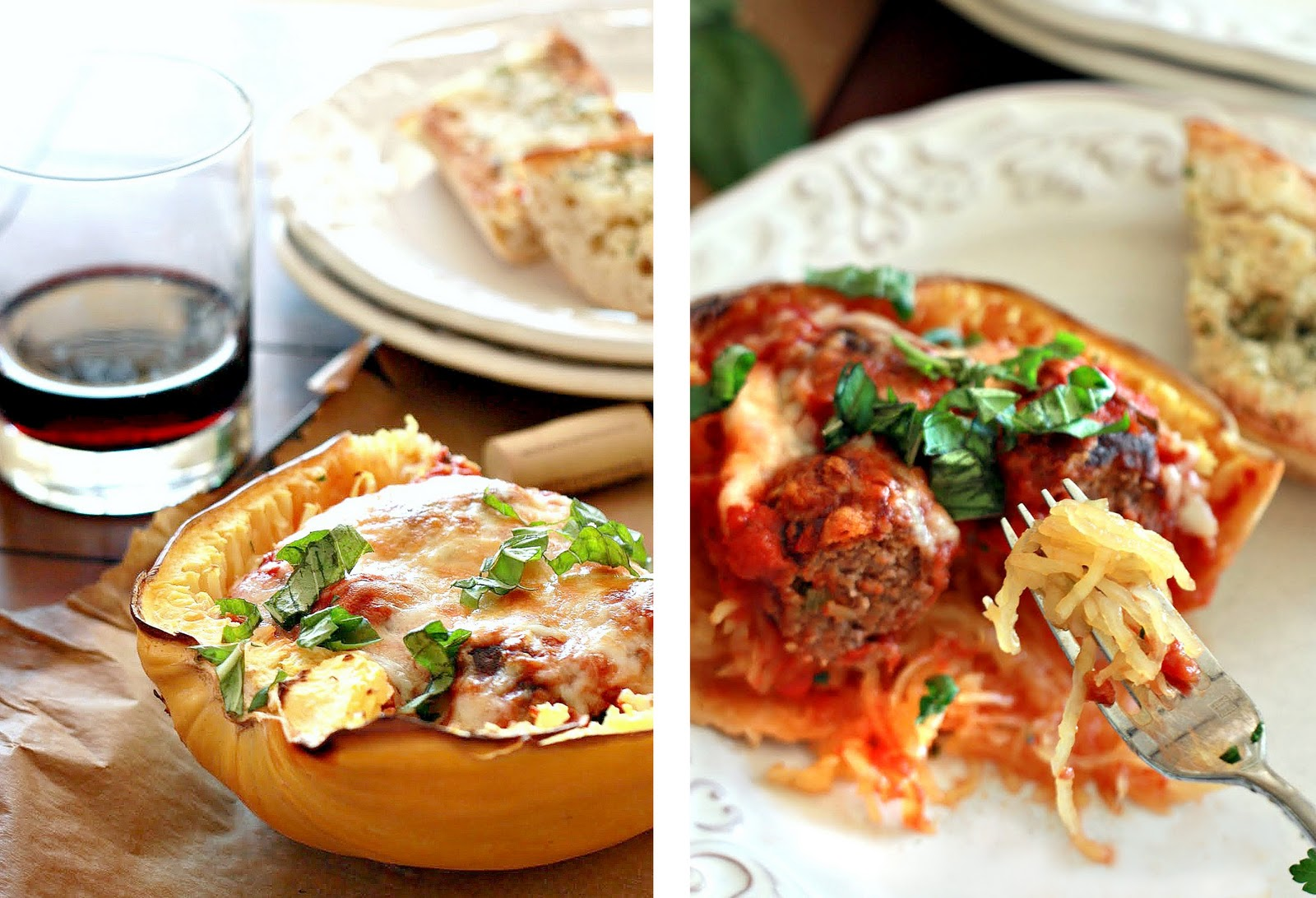 Baked Spaghetti and Meatballs-No pasta | health and Beauty 4Ever