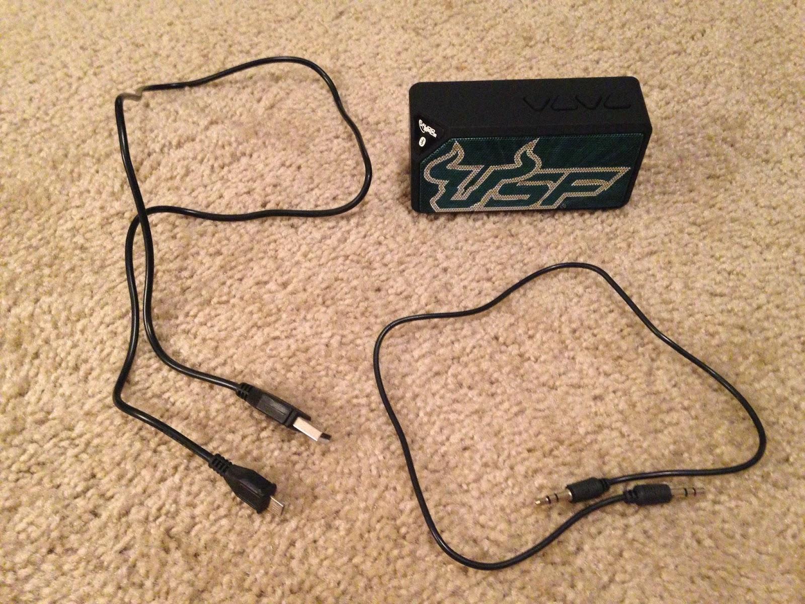 USF bluetooth speaker