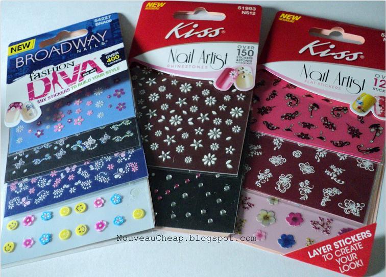 Kiss Nail Art Decals ~ Kiss nail art stickers pinksweetsz