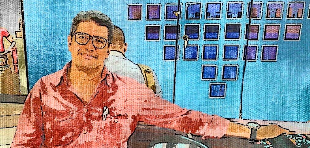 Trabalho artístico - Escritor e poeta Fábio Pacheco.