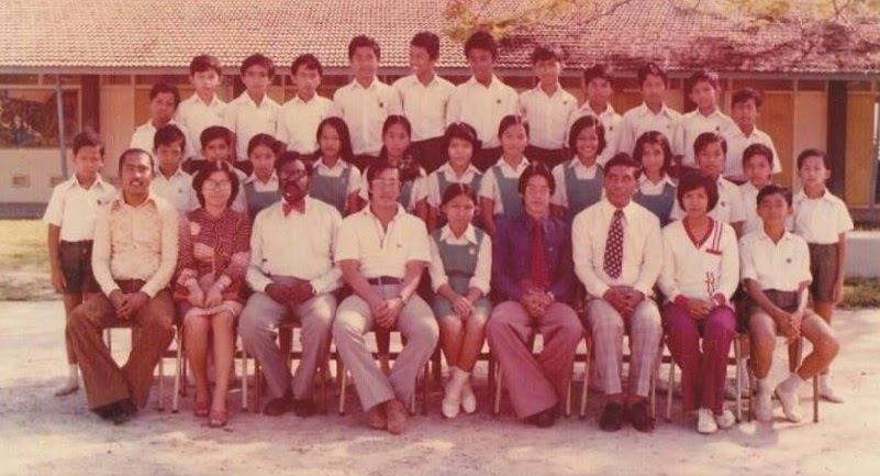PELAJAR TINGKATAN 1 KHAS SMK KAMIL TAHUN 1977
