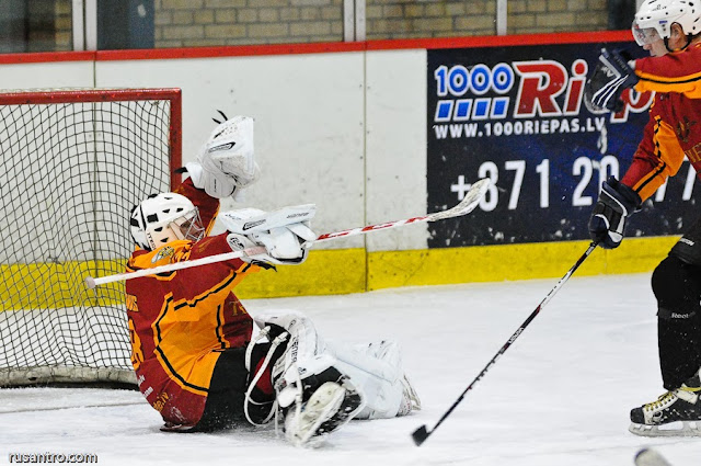 EHL Entuziastu hokeja līga Tērvete Marels Būve