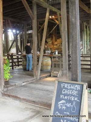 tasting room at Phillips Hill Winery in Philo, California