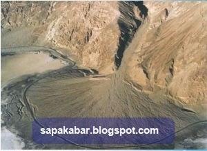 Kipas alluvial sedimentasi sungai