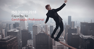 CURSO DE CAPACITAÇÃO na nova ISO 31000:2018 de Gestão de Riscos