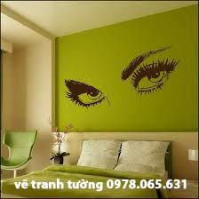 vẽ tranh tường phòng ngủ.phòng khách đẹp