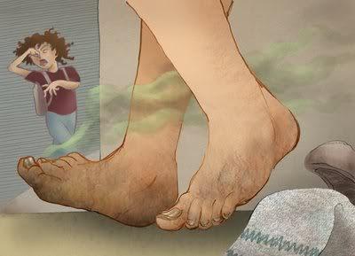 Cara Mudah Menghilangkan Bau Kaki