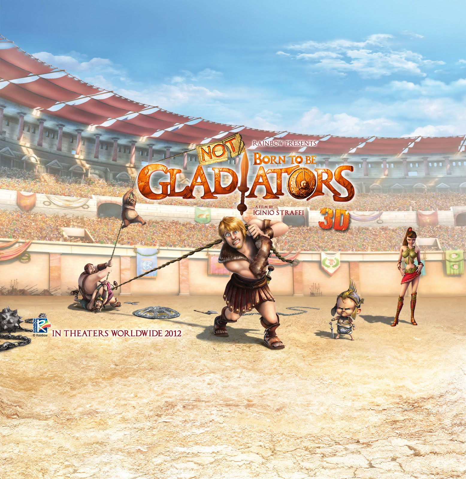 [Animation 2012] Born to be Gladiators [HGBit.com][Sub Eng Vie]