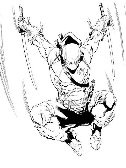 Gi Joe Storm Shadow Coloring Pages Coloring Pages