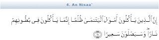 10 Macam Dosa Besar menurut Al-Quran