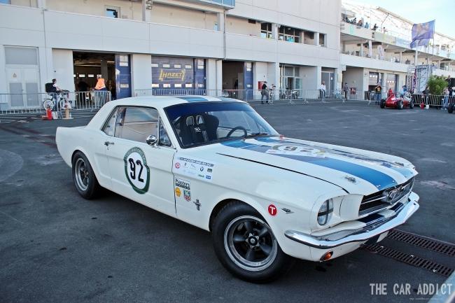 Oldtimer Grand Prix 2013 Nurburgring Ford Mustang