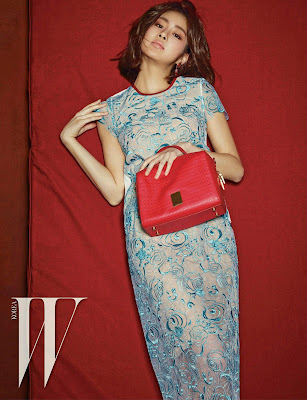 Kang Sora - W Magazine April Issue 2015