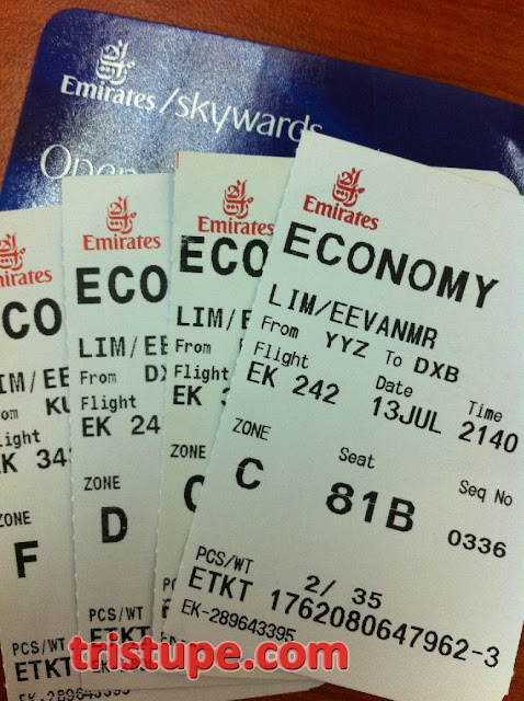 how to buy ticket emirates skywards