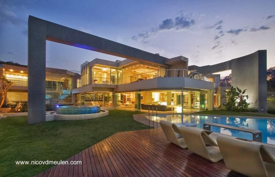 Amplia residencia de estilo Contemporáneo en Sudáfrica