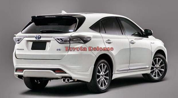 2015 Toyota Harrier Hybrid Price