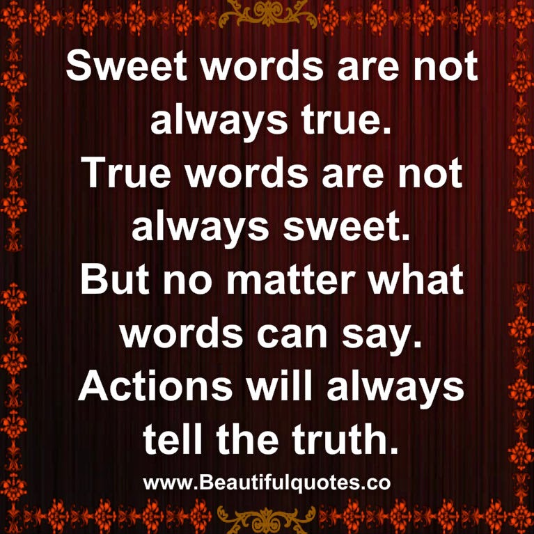 actions     truth