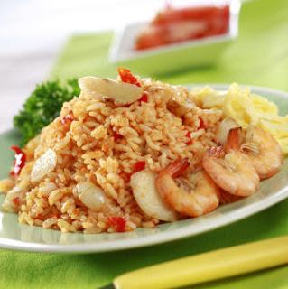 Cara Membuat Nasi Goreng Sederhana, Oriental