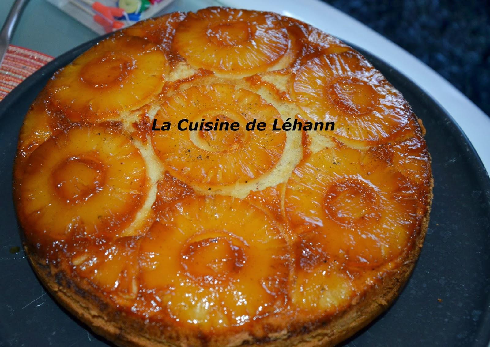 La cuisine de l hann petit g teau l 39 ananas - La cuisine des petits ...